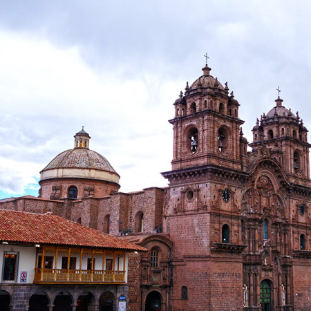 The Cathedral in Cusco's Plaza de Armas